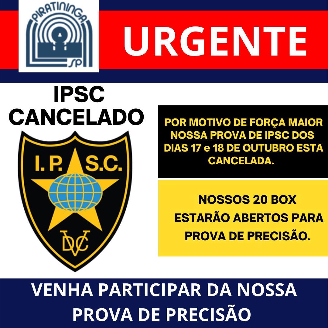 IPSC CANCELADO